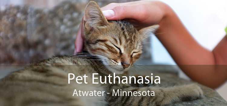 Pet Euthanasia Atwater - Minnesota