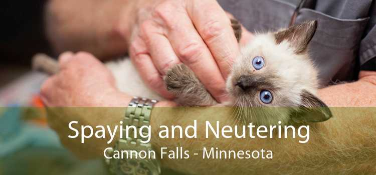 Spaying and Neutering Cannon Falls - Minnesota