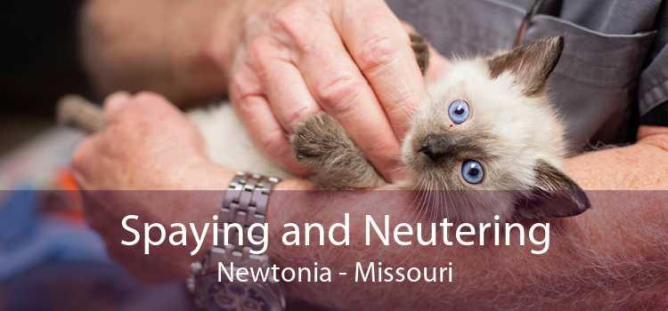 Spaying and Neutering Newtonia - Missouri