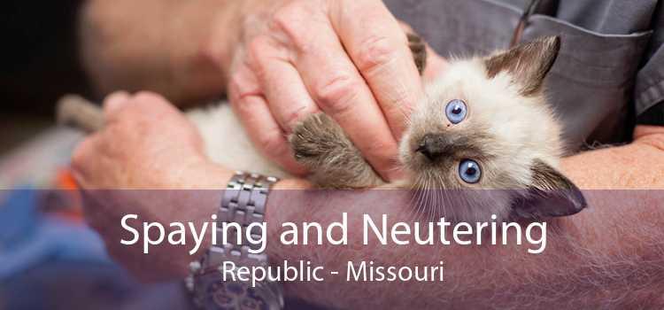 Spaying and Neutering Republic - Missouri