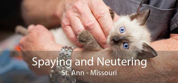 Spaying and Neutering St. Ann - Missouri