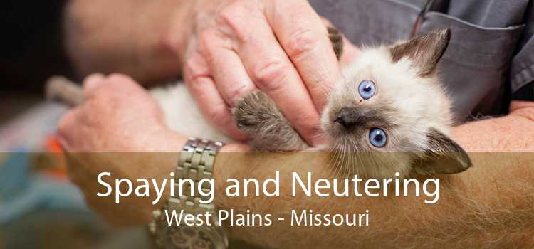 Spaying and Neutering West Plains - Missouri