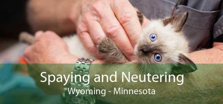 Spaying and Neutering Wyoming - Minnesota